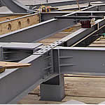 Reception roof steel small