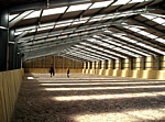 agricultural or equestrian steel frame building
